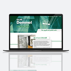 Glas Demmel website