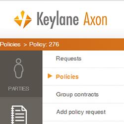 Keylane Axon UI